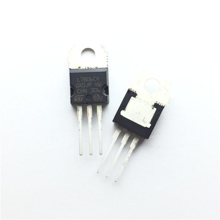 original 80w hcigar aurora mod w towis xt80c chipset 10PCS L7806CV L7806 TO220 7806 MC7806 LM7806 TO-220 new and original IC Chipset