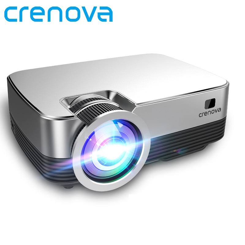 CRENOVA-miniproyector de vídeo Q6, 8,0x1280 P, con WIFI, Bluetooth, sistema operativo Android...