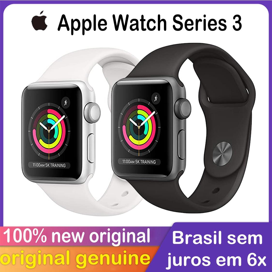 Promo New Original Apple Watch Series 3 GPS cellular  38MM/42MM iwach Aluminum Case   Sport Band Smart watch
