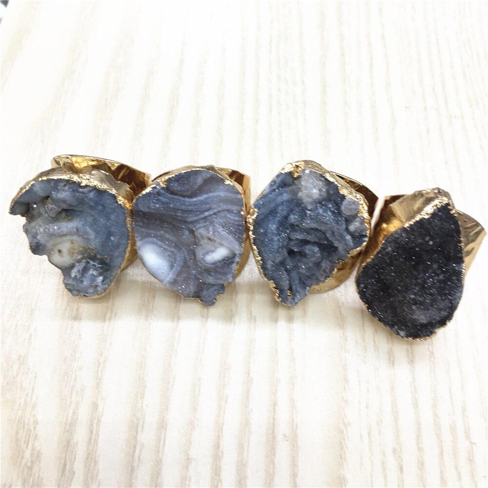 Мужские обручальные кольца Nebula, роскошные Подвески с натуральным камнем, космические креативные Агаты, набор обручальных колец