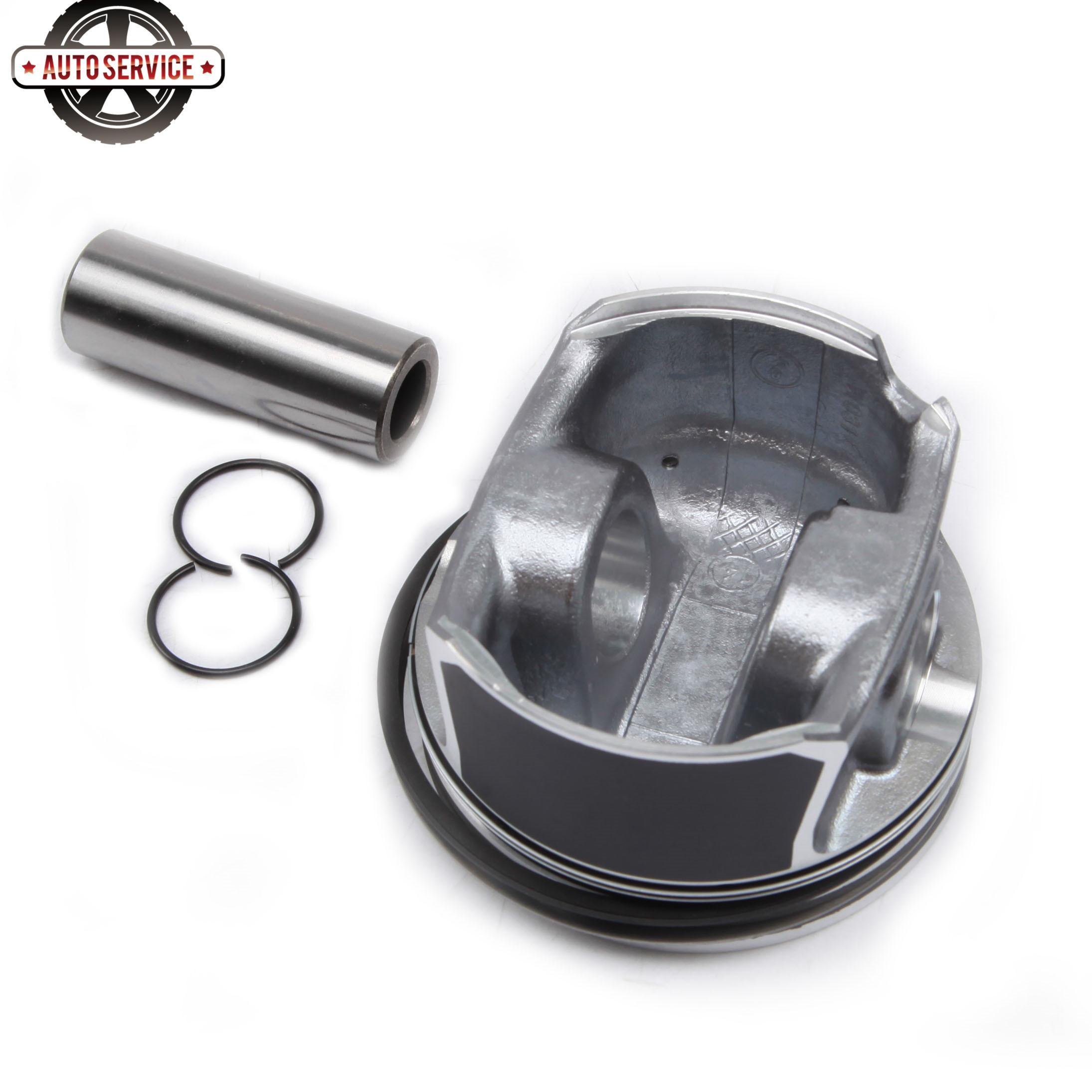 Купить с кэшбэком Car Engine Pistons & Rings Kit 82.51mm / 22mm 06D107066S For AUDI SI S3 TTS Quattro TFSI VW Golf Scirocco 2.0 R 2.0 TSI Seat