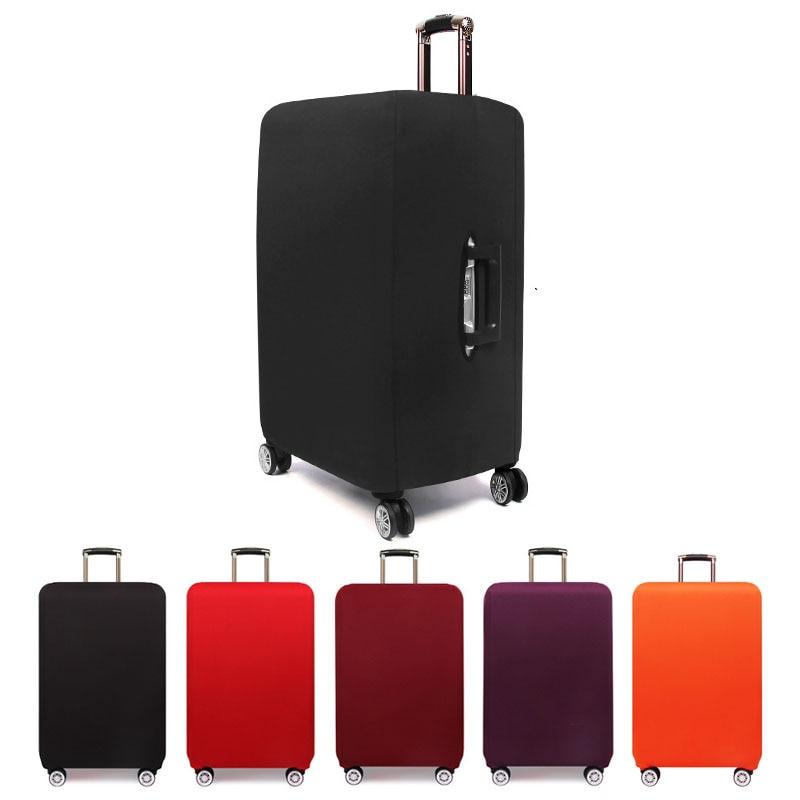 Mala de Viagem Capa de Bagagem Mala de Proteção Acessórios de Viagem Bolsa de Bagagem Zíper Mais Grosso Suitcase Trunk Case Poeira Elástico Capas 18-24