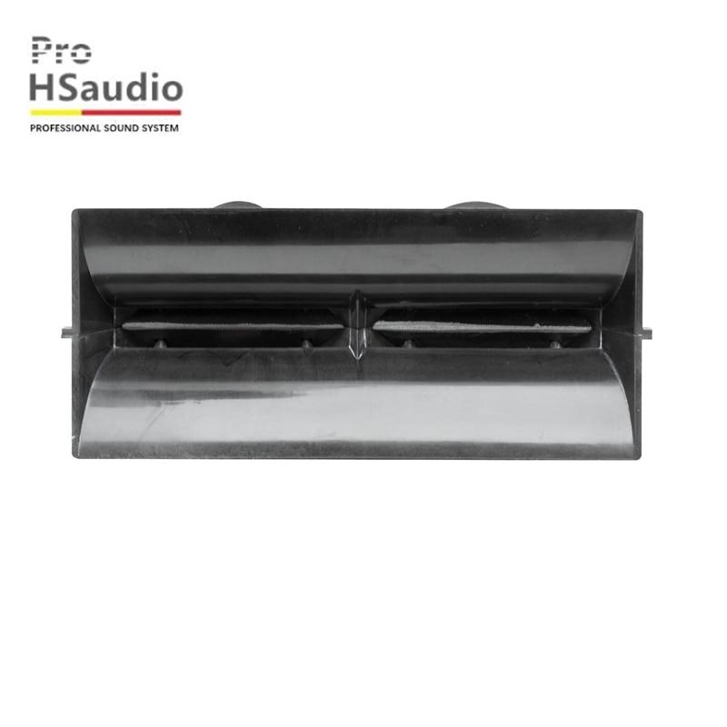 ProHSaudio HS 5943  267L*103W*147H Double 10 Inch 44-Core Dual Tweeter Line Horn Barrel Engineering Plastic+PP Horn enlarge