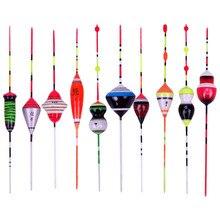 1 Stks/set Visdobbers Mix Size Drijft Boei Fashion Float Bobber Licht Stick Drijft Fluctueren Voor Vissen Accessoires Nieuwe