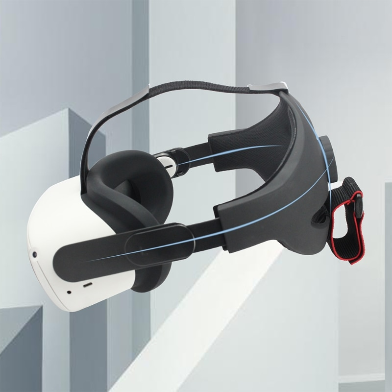 Headband AdjustableStrap VR Headset Head Cushion Compatible with Oculus Quest 2 VR Accessory Non-slip Headband Strap enlarge