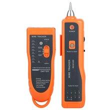 Gran oferta RJ11 RJ45 Cat5 Cat6 rastreador de cables de teléfono rastreador de Cable tóner Ethernet LAN red Cable Tester Detector de línea Finder