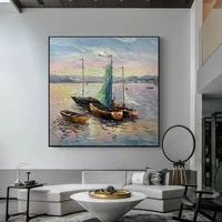 abstract art painting modern wall art canvas pictures large wall paintings handmade oil painting for living room wall decorative