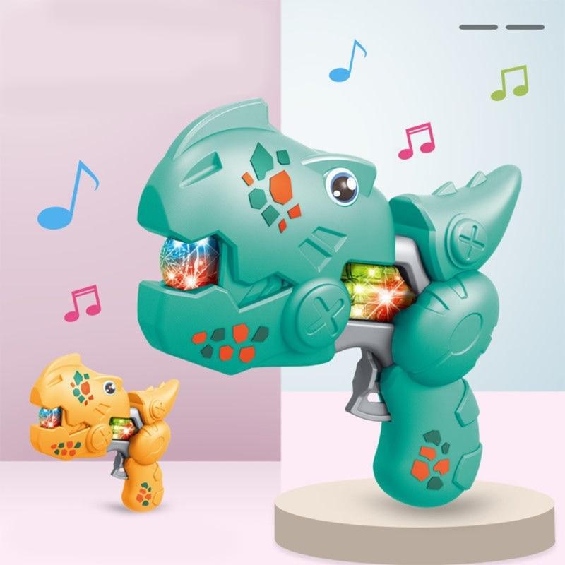 T5EC Children Dinosaur Model Toy Kids Christmas Gift Sound Light Electric Tyrannosaur Toys