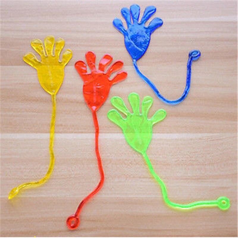 Детская игрушка эластичный липкий, небольшой ладони рук подароки сувениры приколами розыгрыши хлюпающий шлепок ладони рук игрушки