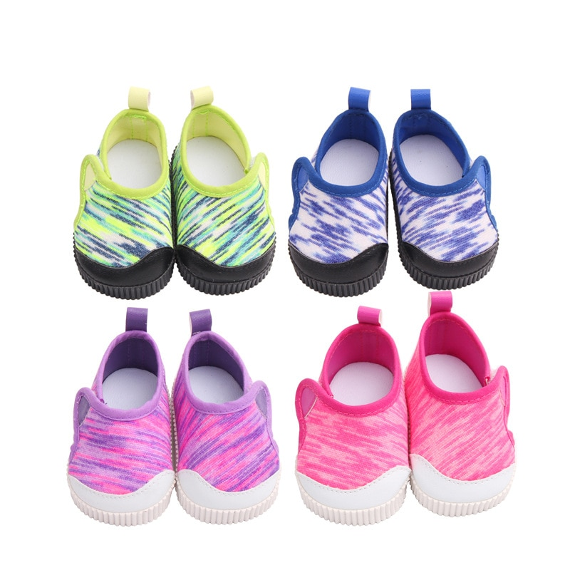 2021 New lovely  Shoes Fit For 45cm American Girl Doll 18 inch Doll Shoes