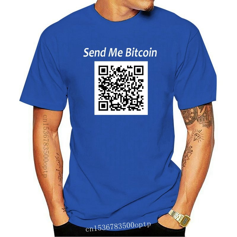 New 2021 T Shirts Bitcoin In Cryptography We Trust Men Moon Short Sleeve Cryptocurrency T-Shirt Men Funky Tees Cotton