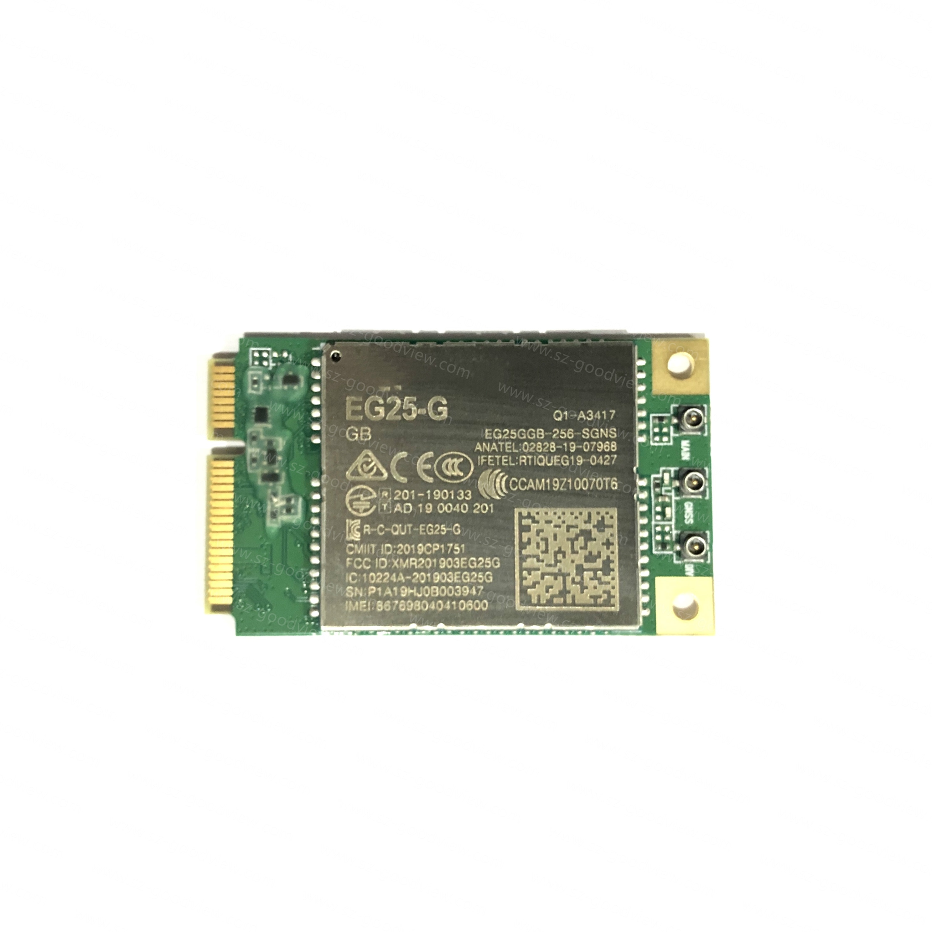 4G Lte Cat4 EG25-G Pcie Development Board Zonder Sim-kaart Houder enlarge