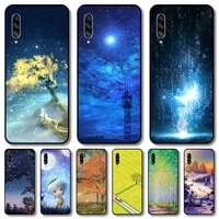 beautiful scenery phone case hull for samsung galaxy m 10 20 21 31 30 60s 31s black shell art cell cover tpu