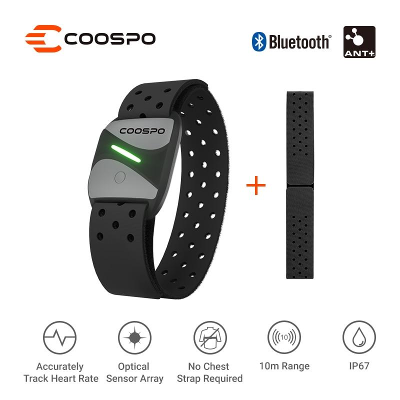Наручный фитнес-датчик CooSpo HW807 HRV, Bluetooth 4,0 ANT + IP67
