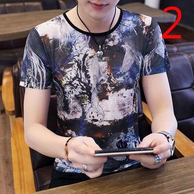 NOVEDAD DE VERANO 2020, camiseta de media manga de algodón y lino con cuello redondo y personalidad fina de estilo chino