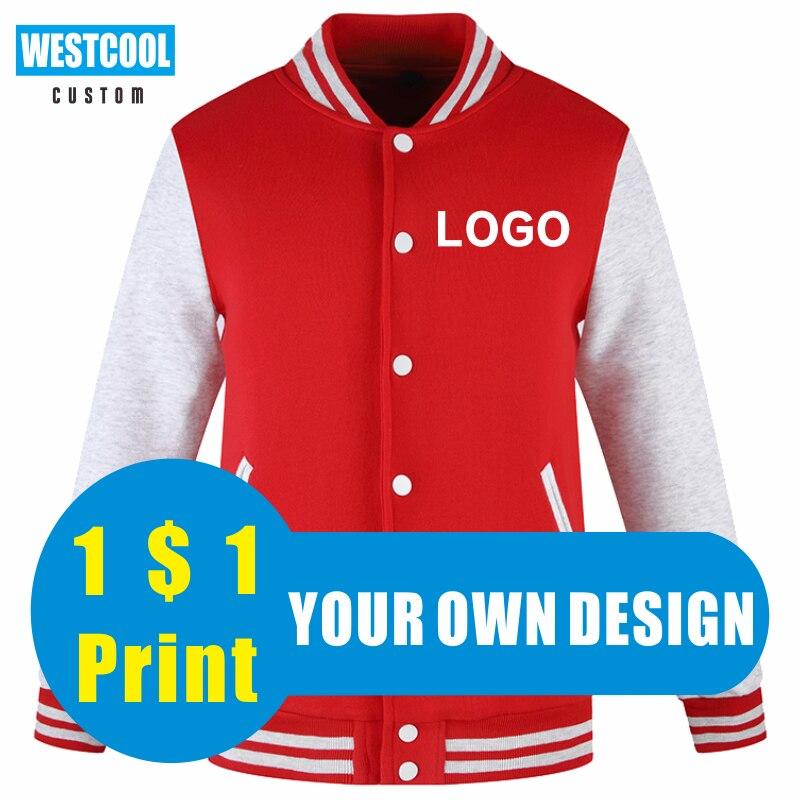 Зимние куртки с логотипом на заказ, высококачественные свитера с вышивкой, индивидуальные модные женские и мужские топы WESTCOOL