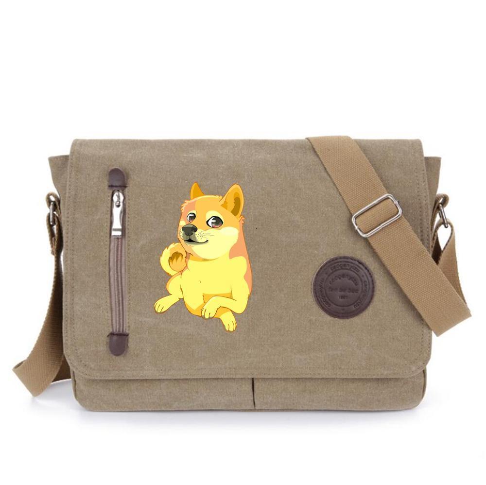 anime Doge bag shoulder bag Messenger Bags School Crossbody Bag men Women My Hero Academia Shoulder Bag