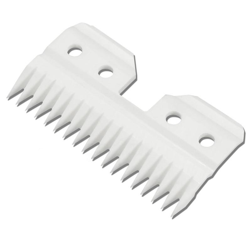 10 unids/lote de cuchillas de corte de cerámica reemplazables de 18 dientes Pet para Oster A5 Series