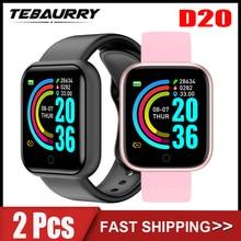D20 Smart Watch Men Fitness Tracker Sports Smartwatch Y68 Heart Rate Monitor Bluetooth Wristwatch fo