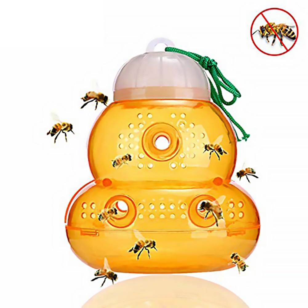 Bee Catcher Beehive Wasp Trap Spring Wasp Repellent Hornet Trap Bee Catcher Home Garden Wasp Killer