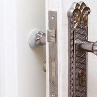 Door Stopper Doorknob Rubber Fender Lock Protective Pad Rubber Crash Pad Home Door Back Wall Protector Savior Shockproof