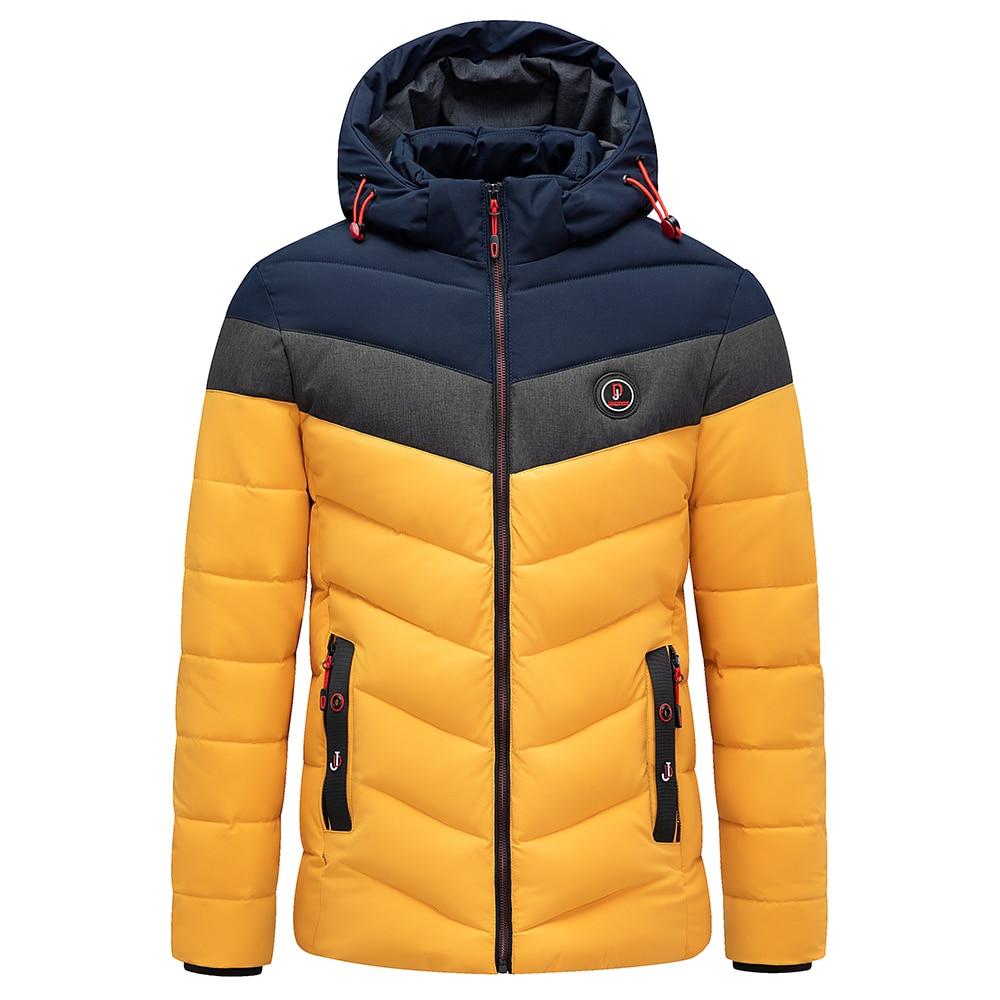 Vyrai žiemą visiškai naujas laisvalaikio šiltas storas - Vyriški drabužiai - Nuotrauka 3
