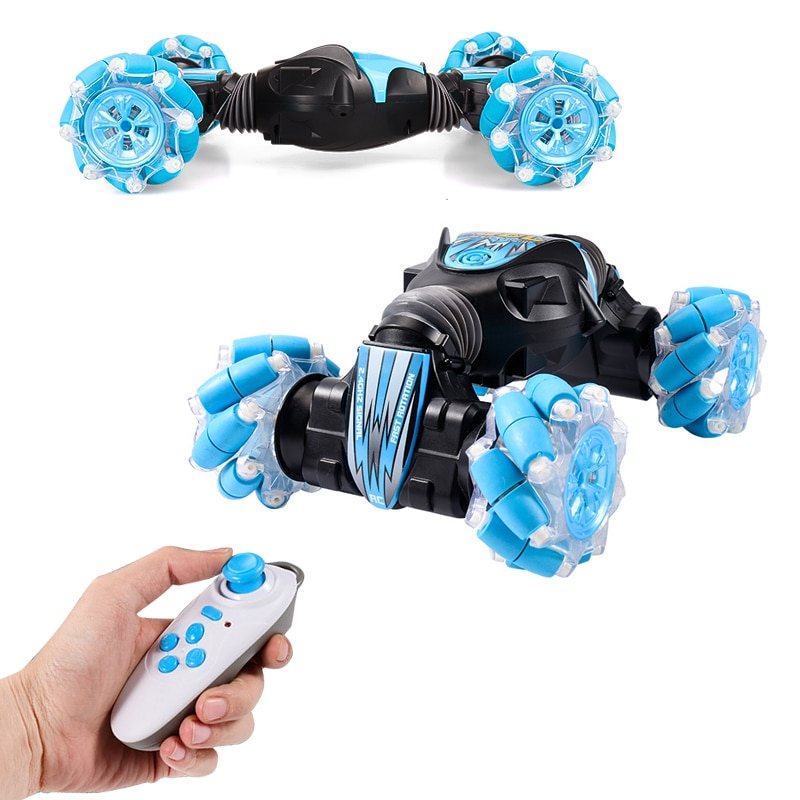 RC Car 4WD Radio Control Stunt Car Handle remote control Twisting trajectory pattern Vehicle With Light & Music RC Toys for boy enlarge