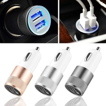 USB Car Charger Quick Charge Universal  2.1A / 1.0A Fast Car USB Charger For IPhone Xiaomi Mobile Ph