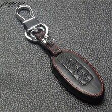 5 Buttons Remote Leather Car Key Cover Case For Nissan Murano 2016-2017 Altima Maxima Infiniti EX FX G37 Q60 QX50 QX70