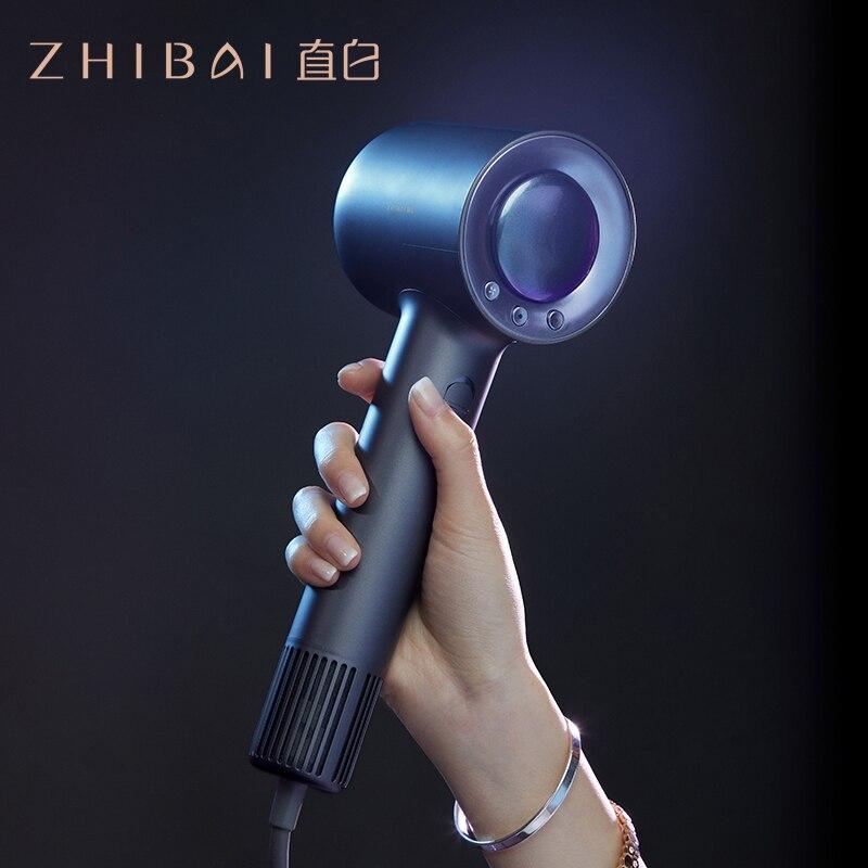 zhibai profissional de alta velocidade secador cabelo para cabelo termostatica forte
