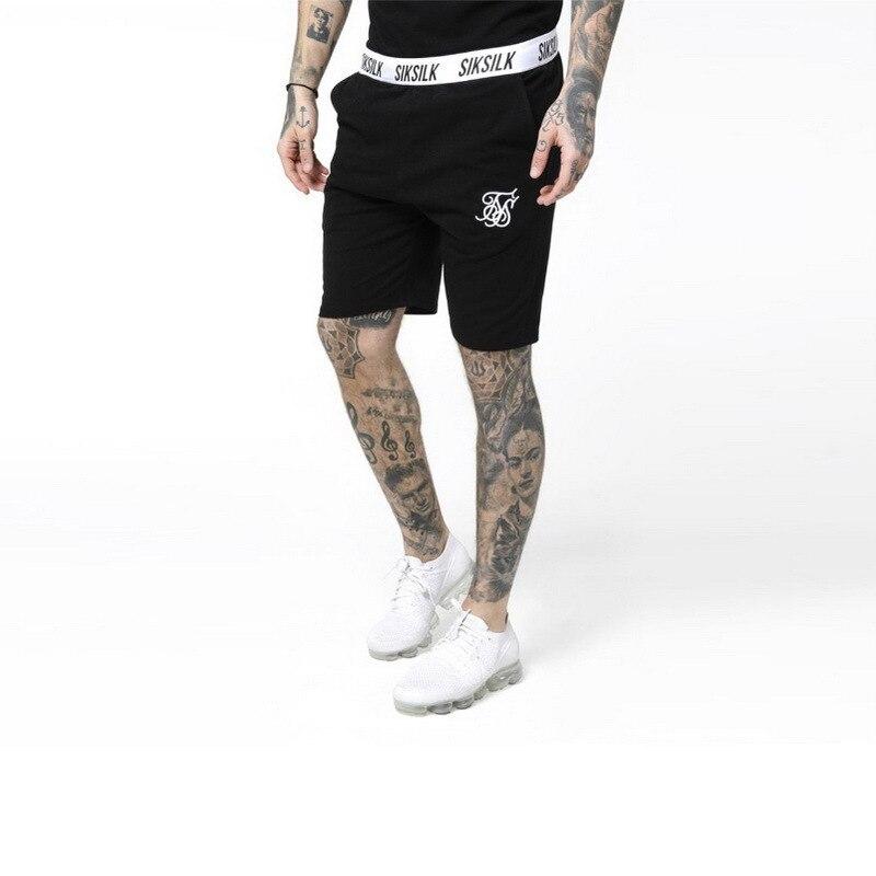 Summer Men Shorts Hip Hop Fashion Male Short Pants Sik Silk Embroidery Male  Silk Silk Mens Casual Shorts shorts men