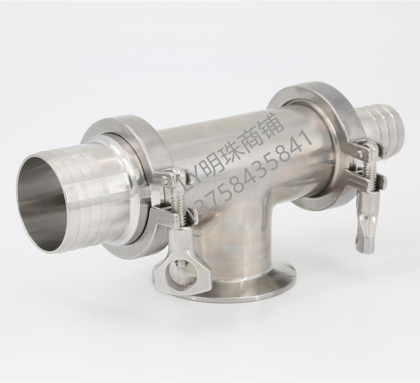ماكينة حشو تعمل بالهواء المضغوط صمام أنبوب ثلاثي الاتجاه الفولاذ المقاوم للصدأ صمام الاختيار آلة مجهزة بصمامات مدخل ومخرج المياه