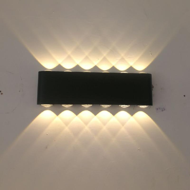 Moderna lámpara de pared Led para escaleras, lámpara de noche, Loft, sala de estar, recibidor de casa, lámpara de 2W, 4W, 6W, 8W, 12W, apliques de pared