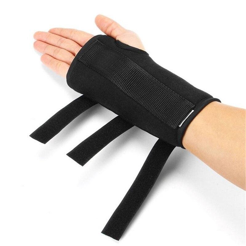 Férula de recuperación de mano para dedo, correa de rehabilitación de mano fija, guantes auxiliares, 1 unidad