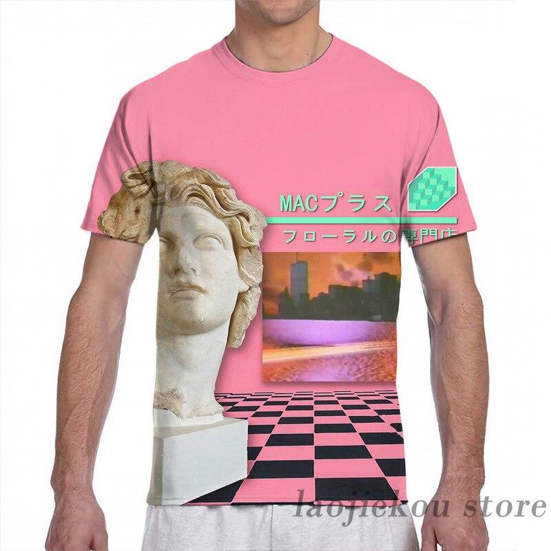 Macintosh Plus 420, camiseta para hombre, para mujer, estampado completo, camiseta de moda para chica, camisetas para chico, camisetas de manga corta, camisetas