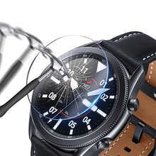 9H для Galaxy Watch 41 42 45 46 мм закаленное стекло для Samsung Gear S3 S2 2 3 R380 Защитная пленка для экрана 1/3 шт.