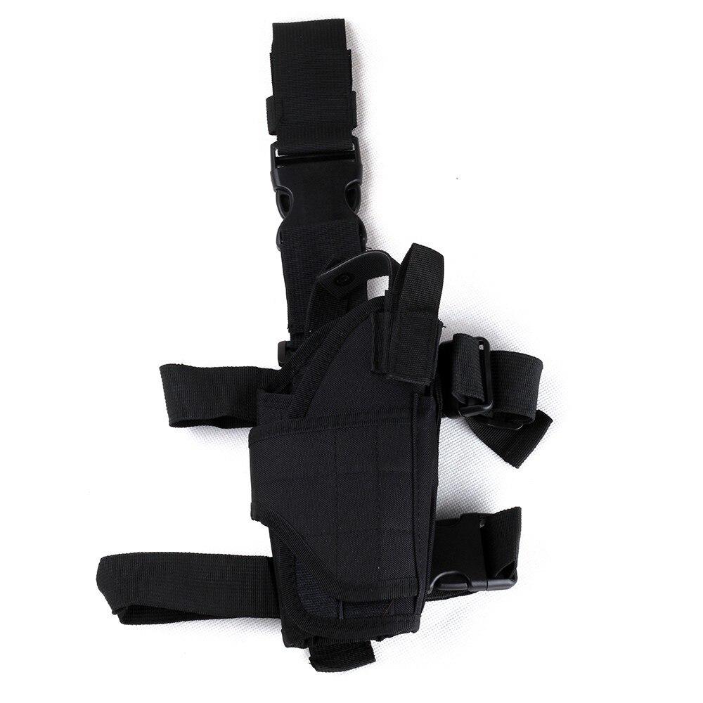 Ohhunt охотничий Регулируемый тактический пистолет, прямая нога, бедро, кобура, чехол, держатель с мешком Mag, правая рука, черный