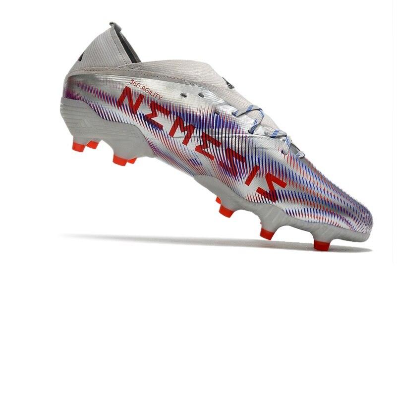 Оптовая продажа, футбольные бутсы Nemeziz 19,1 FG, мужские уличные футбольные бутсы со шнурками, распродажа