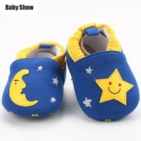 baby shoes toddler shoes comfortable and slip on baby crib shoes soft sole pure cotton baby toddler for new born first walkers