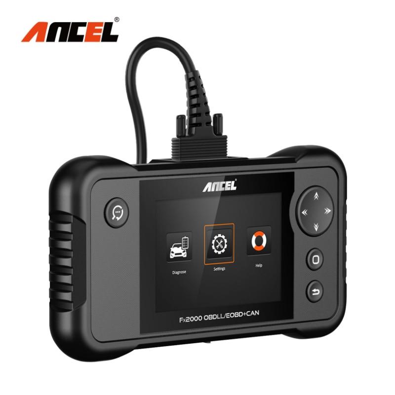 Ancel FX2000 OBD2 Automotive Scanner ABS SRS Airbag Transmission Engine Diagnostic Tool OBDII Car Professional Auto Scanner Tool