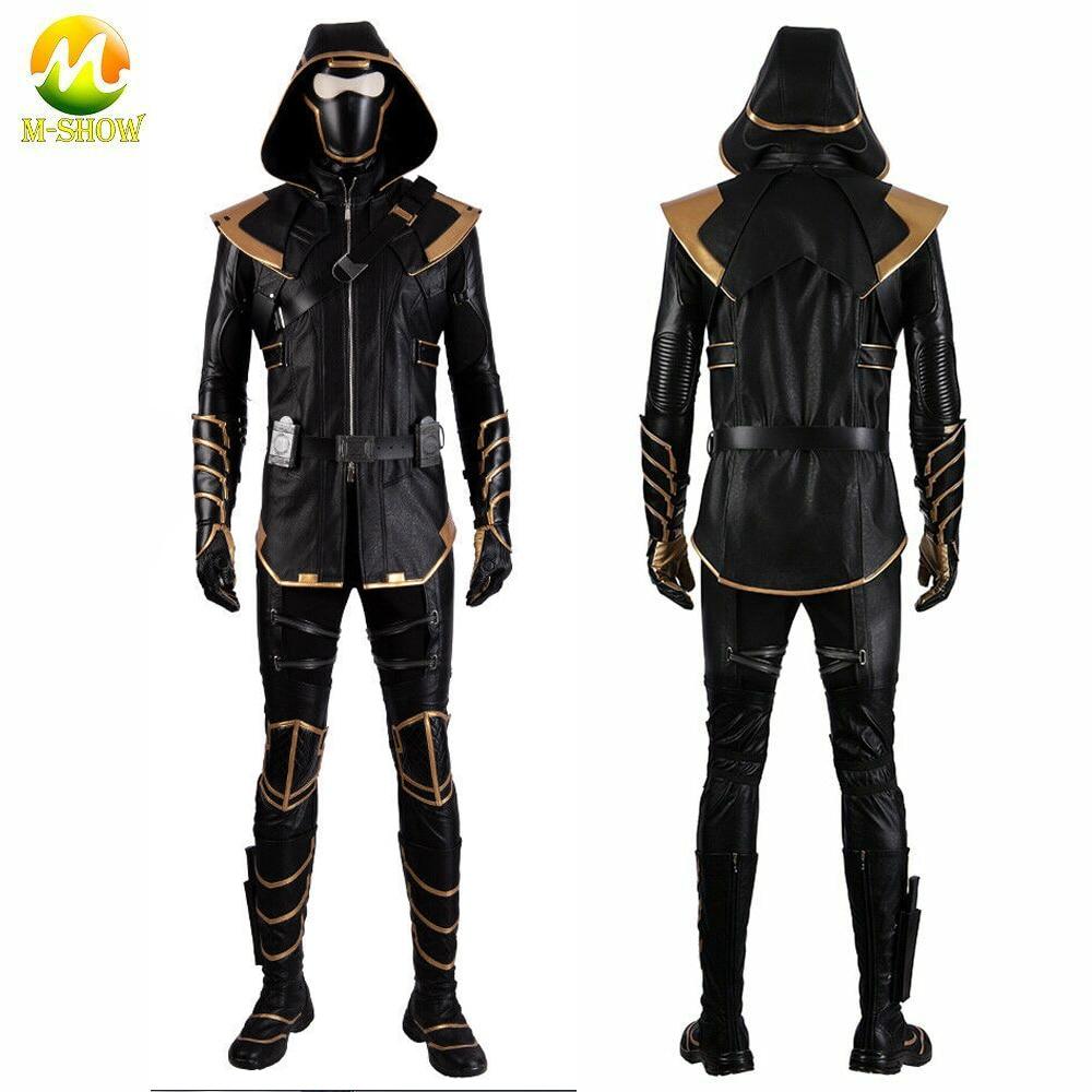 Костюм для косплея супергероя Hawkeye Ronin, худи, роскошная униформа для взрослых мужчин любого размера