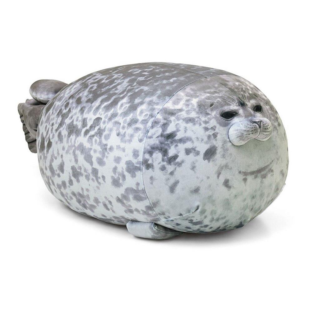 Fat Seal Pillow 30/40/60cm Soft Cotton Soft Cute Sea Animal Plush Toy Marine Pillow