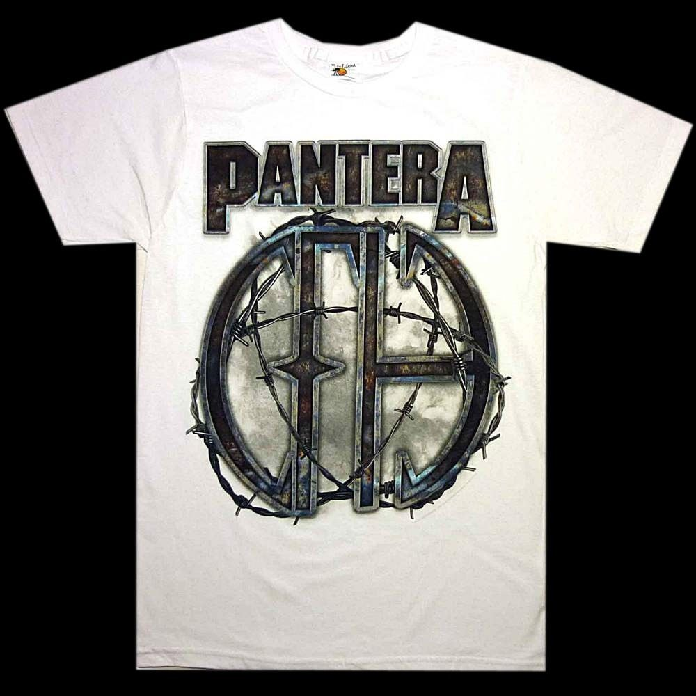 Pantera 81 camiseta blanca S M L XL XXL 3XL banda de Rock de Metal camiseta oficial nueva