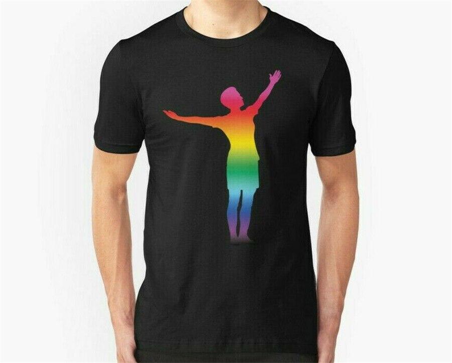 Novo megan rapinoe orgulho camiseta masculina tamanho S-2XL-3XL (tamanho dos eua) camiseta m xl 2xl 3xl