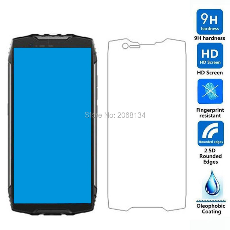 Full Glue Tempered Glass 9H Safety Shield Protection Protective Film Screen Protector For Blackview