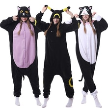Einhorn pyjamas erwachsene tier Lila Nacht Katze Onesie frauen männer paar winter pyjamas anzüge Nachthemd schlafanzug flanell hause textil