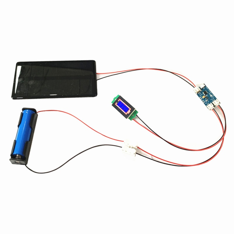 AliExpress - Mini 6V 210MA 1.25W Mono Solar Panel with solar charger CN3065  Cell Phone Charging DIY Kit with 1S Battery holder /display