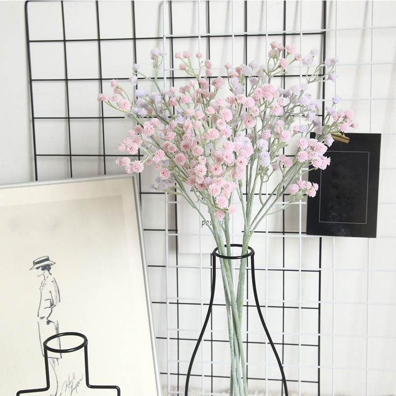 Artificial Flocking All Over The Sky Plastic All Over The Sky Star Bouquet Hand Holding Flowers Home Wedding Decoration Flowers