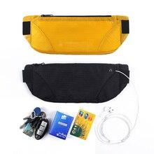 Waist Belt Bag Portable Ultralight Waist Packs Phone Holder For iPhone 11 Pro max se 2 8 Plus Trailing Running Phone holder bag