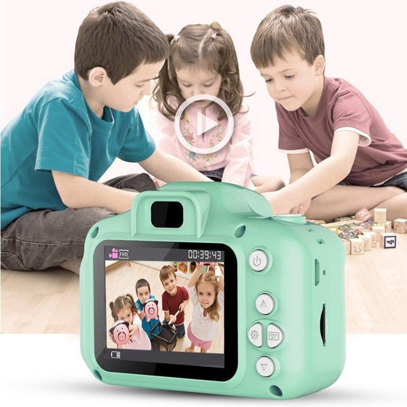 Mini kinder Digital Kameras mit 16GB Speicher TF Karte Spielzeug für Kinder Kinder Geburtstag Geschenk Outdoor Spiel Weihnachten geschenk